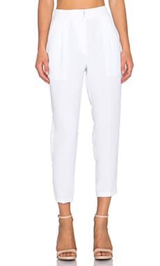 Contemporary Pant in White