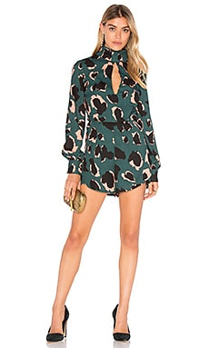 Graphic Playsuit in Multi