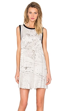 Tent Mini Dress in Marble