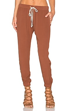 Lounge Pant in Cognac