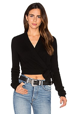 Shaylin Cropped Sweater in Black