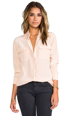 Signature Blouse in Nude