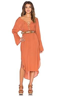 The Maja Dress in Plain Blush