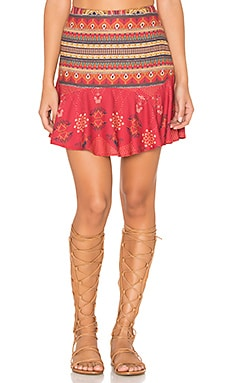 Bangalora Skirt in Red