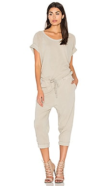 Wing Jumpsuit in Cement