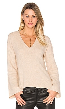 Wesley Sweater in Camel Heather