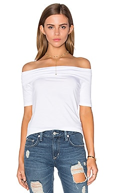 Linzee Off Shoulder Top in White