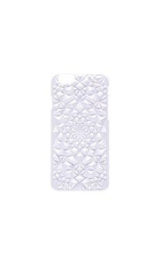 Kaleidoscope iPhone 6/6s Case in Whte