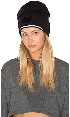 Layered Beanie in Puma Black & Puma White