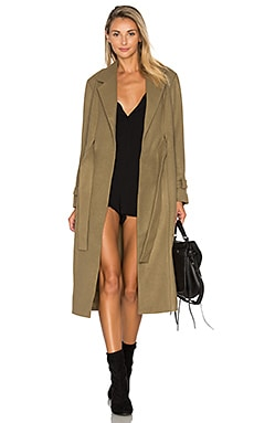 Waiting On The Sun Coat in Olive