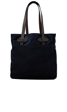 Open Tote Bag in Navy
