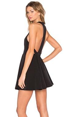 In Line Dress in Black
