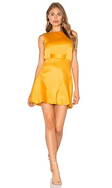 The Moment Dress in Marigold
