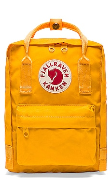Kanken Mini in Warm Yellow