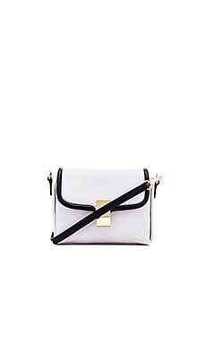 Palmer Crossbody in Blanco & Black