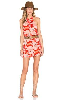 Poppy Dress in Flaming Moonshine