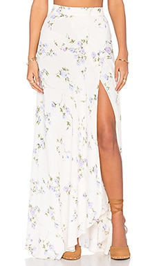 Wrap It Up Maxi Skirt in Lavender Skye