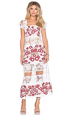 Cecelia Dress in White