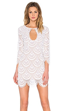 Rosalita Mini Dress in White