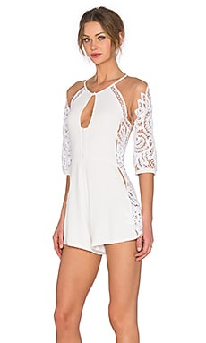 Valentina Romper in White