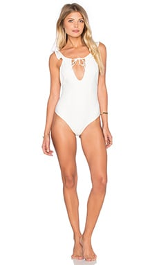 Belize One Piece Swimsuit in Ivory