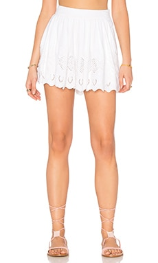 Azalea A Line Short in White