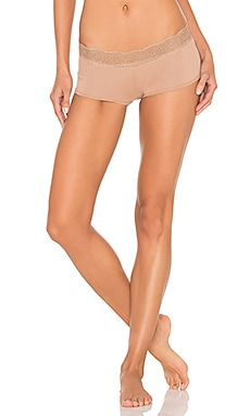 Medallion Boyshort in Nude