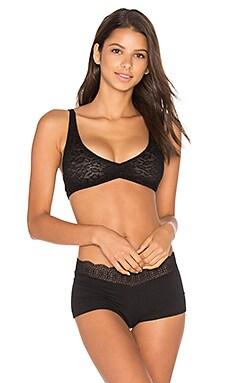 Tatiana Soft Bra in Black