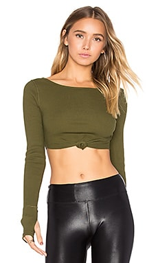 New Wave Top in Green