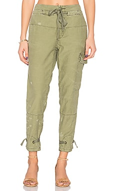 Don't Get Lost Soft Utility Pant in Moss