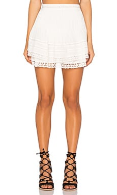 Summer's Night Skirt in Ivory