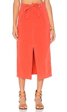 Easy Breezy Skirt in Bright Red