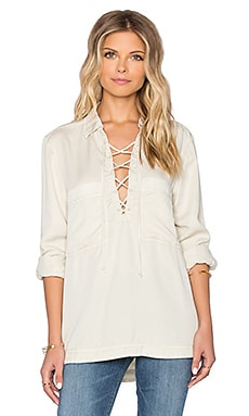 Under Your Spell Blouse in Cream