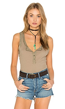 Time Out Tank in Antique Tan