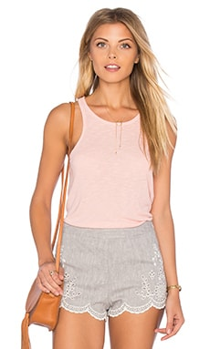 Long Beach Tank in Petal Pink