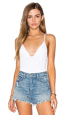Move Along Bodysuit in White