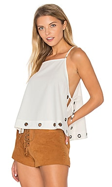 City Fever Top in Ivory