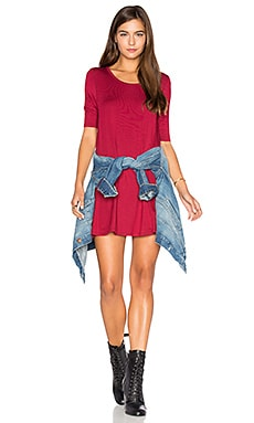 Jacqueline Tunic in Red