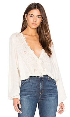 Desert Sands Top in Ivory