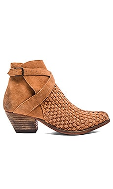 Ventura Ankle Booties in Adobe