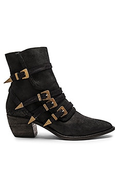 Mason Western Bootie in Black