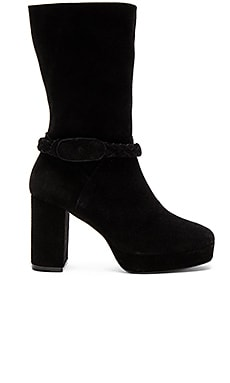 Iris Mid Bootie in Black