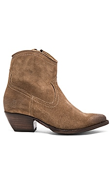 Sacha Short Boot in Ash