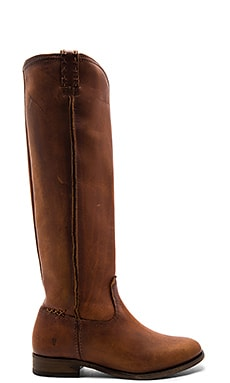 Cara Tall Boot in Cognac
