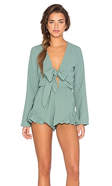 Romper in Dusty Mint