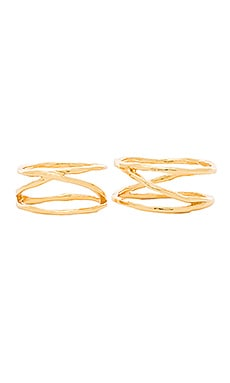 Isla Ring & Midi Set in Gold