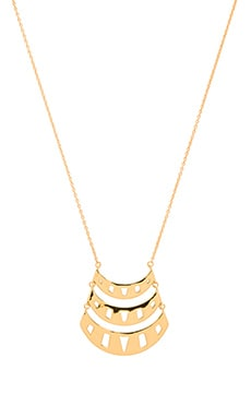 Behati Pendant Necklace in Gold