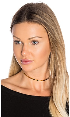 Hammered Choker in Gold