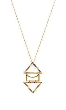 Anya Pendant Necklace in Gold