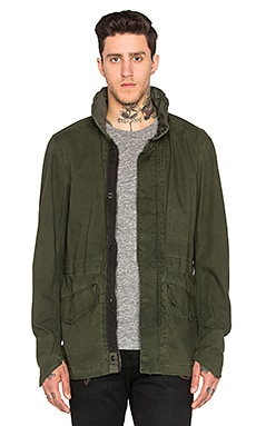 Clean Field Jacket in Sage & Bright Rovic Green OD